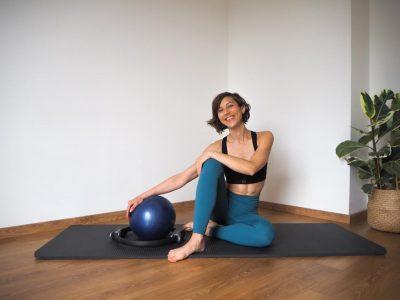 """Pilates-Niveau intermédiaire & confirmé """"spécial ballon de paille""""-07-04-21"""